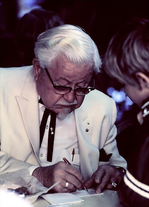 success stories; colonel sanders