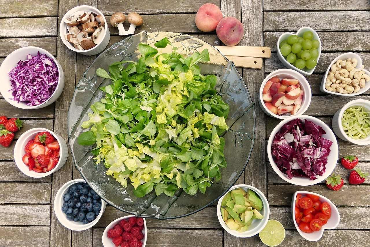 Low Fat Foods salad