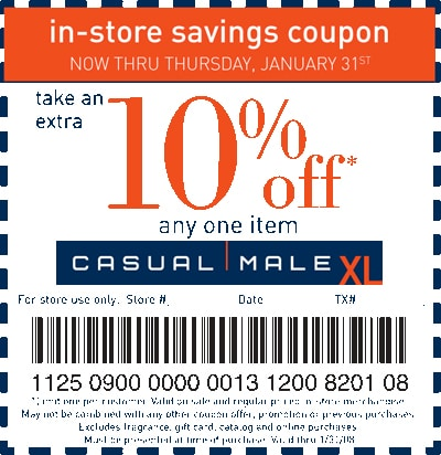 Coupons for shopping