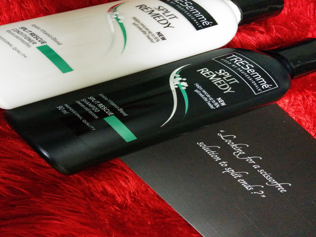 shiny and healthy hair tresemme shampoo and conditioner