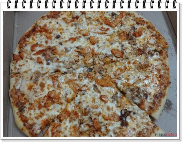 La Pino's Pizza chicken 18 inch