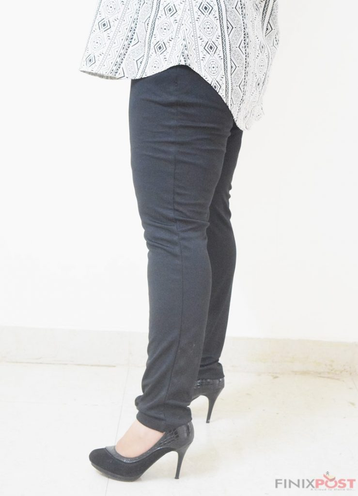 Black trousers | How to look thin