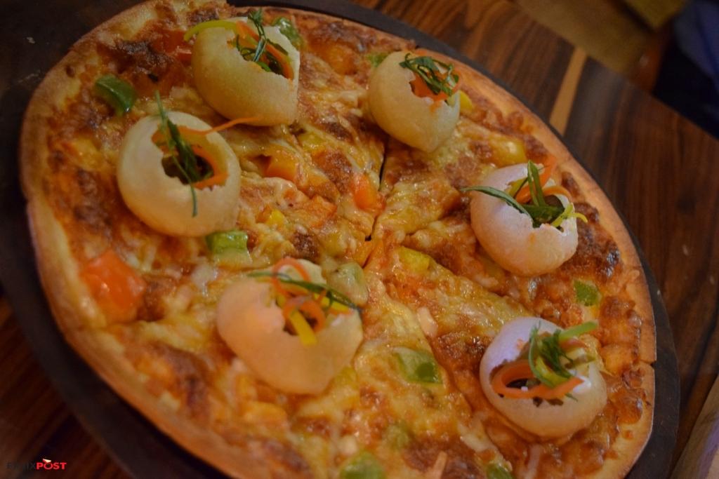 Pizza Golgappa Hangover