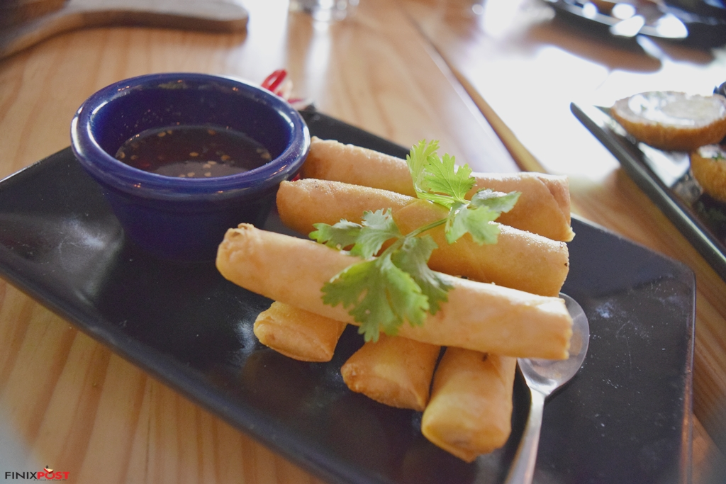 irish spring rolls at Londoners GK1
