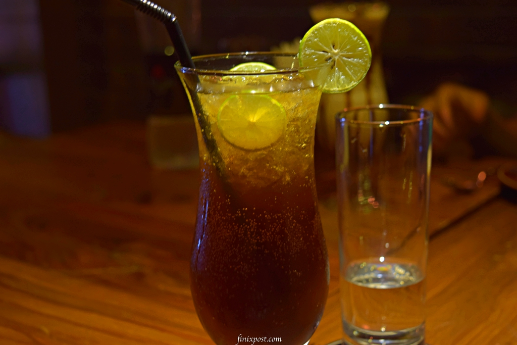 Long island iced tea at wolfgang & company