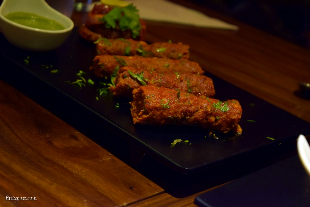 classic mutton seekh at wolfgang and company, delhi