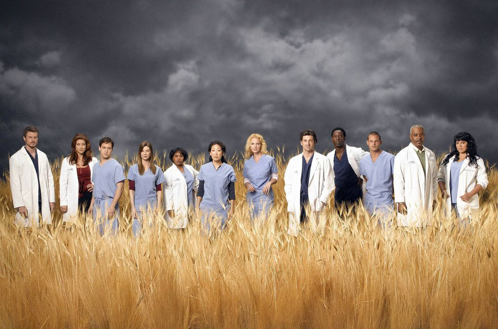 Popular tv show Grey's Anatomy