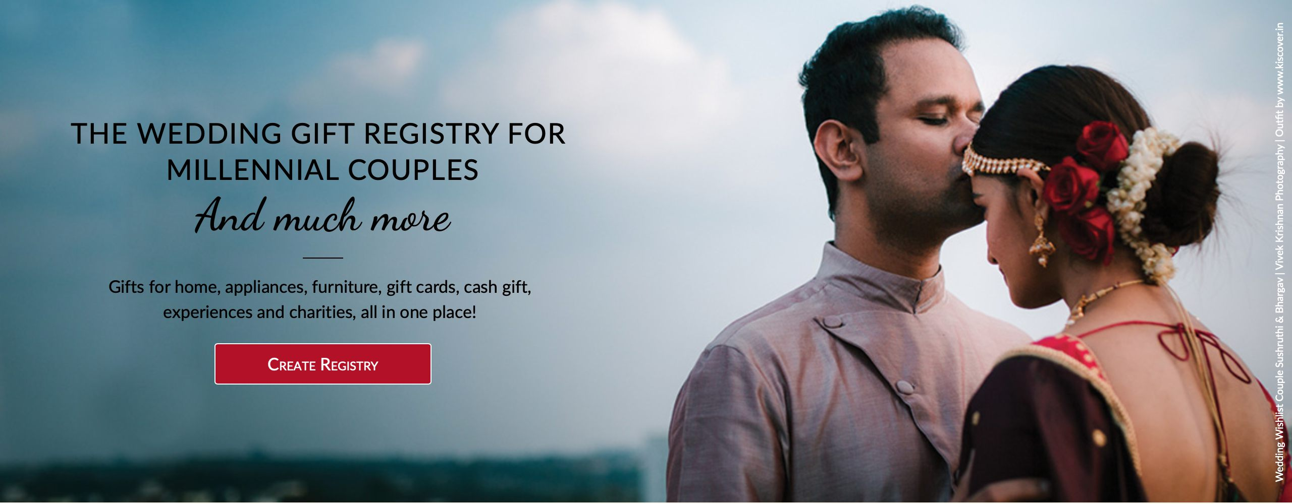 wedding gift registry for millenial couples