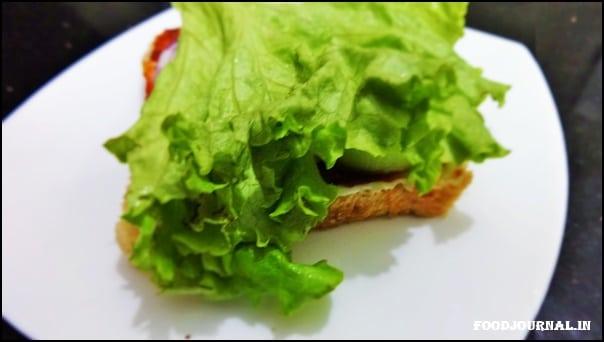 Egg Veggie Sandwich 4