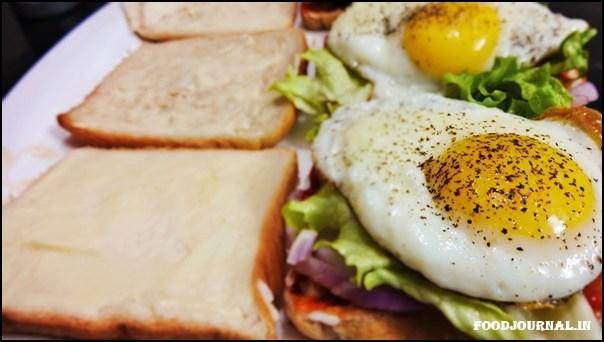 Egg Veggie Sandwich 6