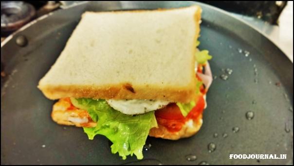 Egg Veggie Sandwich 7