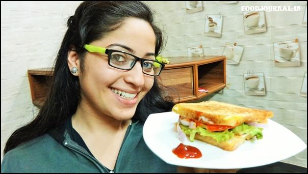 Egg Veggie Sandwich 8