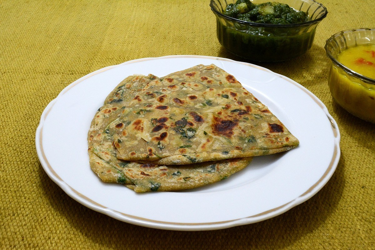 Methi_fenugreek_parathas